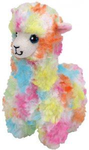 Peluche de llama de Ty multicolor de 15 cm - Los mejores peluches de llamas - Peluches de animales