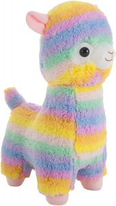 Peluche de llama multicolor de gigante de 70 cm - Los mejores peluches de llamas - Peluches de animales