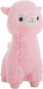 Peluche de llama rosa de gigante de 70 cm - Los mejores peluches de llamas - Peluches de animales