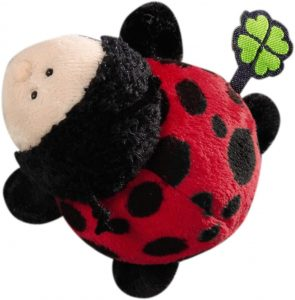 Peluche de mariquita de NICI de 12 cm - Los mejores peluches de mariquitas - Peluches de animales