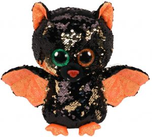 Peluche de murciélago brillante de Ty de 15 cm - Los mejores peluches de murciélagos - Peluches de animales