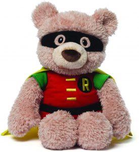 Peluche de oso Robin de 30 cm - Los mejores peluches de Robin - Peluches de superhéroes de DC