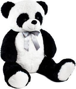Peluche de oso panda de BRUBAKER de 80 cm - Los mejores peluches de osos pandas - Peluches de animales