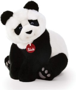 Peluche de oso panda de Trudi de 34 cm - Los mejores peluches de osos pandas - Peluches de animales