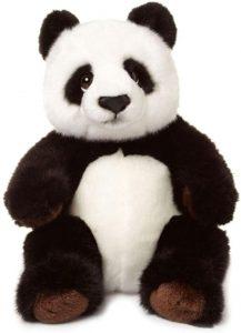 Peluche de oso panda de WWF de 22 cm - Los mejores peluches de osos pandas - Peluches de animales