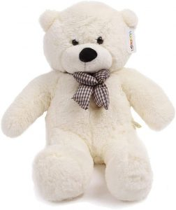 Peluche de oso polar de 120 cm - Los mejores peluches de osos polares - Peluches de animales