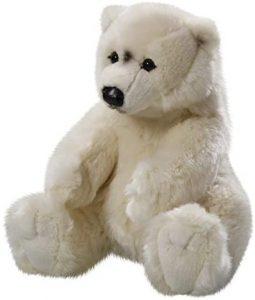 Peluche de oso polar de Carl Dick de 30 cm - Los mejores peluches de osos polares - Peluches de animales