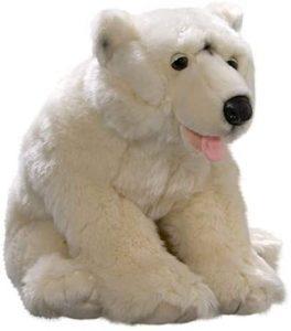 Peluche de oso polar de Carl Dick de 42 cm - Los mejores peluches de osos polares - Peluches de animales
