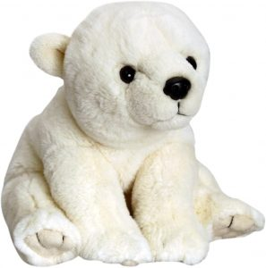 Peluche de oso polar de Keel Toys de 45 cm - Los mejores peluches de osos polares - Peluches de animales