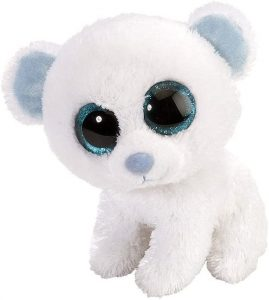 Peluche de oso polar de Lil Sweet and Sassy de 13 cm - Los mejores peluches de osos polares - Peluches de animales
