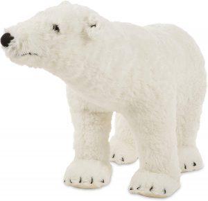 Peluche de oso polar de Melissa y Doug de 86 cm - Los mejores peluches de osos polares - Peluches de animales