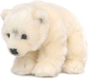 Peluche de oso polar de Mimex de 23 cm - Los mejores peluches de osos polares - Peluches de animales