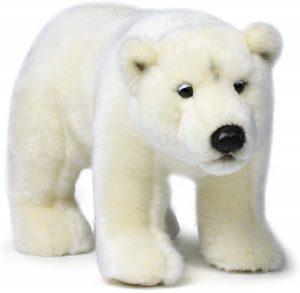 Peluche de oso polar de Mimex de 31 cm - Los mejores peluches de osos polares - Peluches de animales