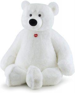 Peluche de oso polar de Trudi de 128 cm - Los mejores peluches de osos polares - Peluches de animales