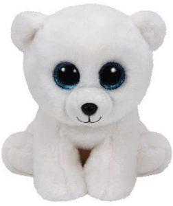 Peluche de oso polar de Ty de 15 cm 2 - Los mejores peluches de osos polares - Peluches de animales