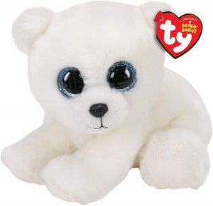 Peluche de oso polar de Ty de 15 cm - Los mejores peluches de osos polares - Peluches de animales