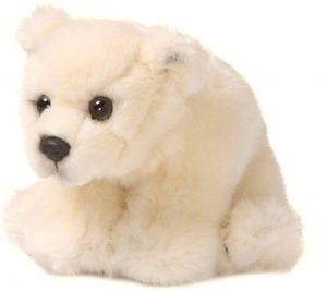 Peluche de oso polar de WWF de 15 cm - Los mejores peluches de osos polares - Peluches de animales