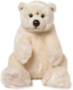 Peluche de oso polar de WWF de 32 cm - Los mejores peluches de osos polares - Peluches de animales