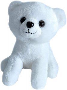 Peluche de oso polar de Wild Republic de 15 cm - Los mejores peluches de osos polares - Peluches de animales