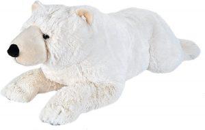 Peluche de oso polar de Wild Republic de 76 cm - Los mejores peluches de osos polares - Peluches de animales
