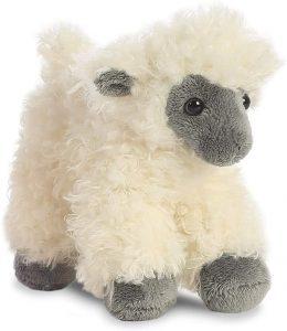 Peluche de oveja de Aurora de 20 cm - Los mejores peluches de ovejas - Peluches de animales