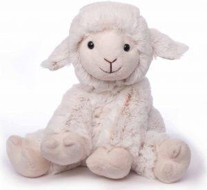 Peluche de oveja de Inware de 19 cm - Los mejores peluches de ovejas - Peluches de animales