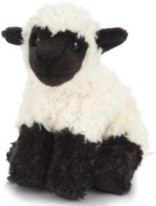 Peluche de oveja de Living Nature de 19 cm - Los mejores peluches de ovejas - Peluches de animales