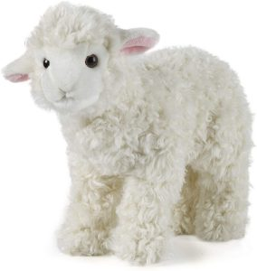 Peluche de oveja de Living Nature de 30 cm - Los mejores peluches de ovejas - Peluches de animales