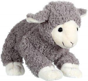Peluche de oveja gris de Gipsy de 20 cm - Los mejores peluches de ovejas - Peluches de animales