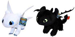 Peluche de pack de dragones de 30 cm - Los mejores peluches de como Entrenar a tu Dragón 3 - Peluches de como Entrenar a tu Dragón 3