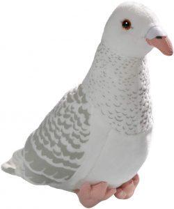Peluche de paloma blanca de Carl Dick de 24 cm - Los mejores peluches de palomas - Peluches de animales