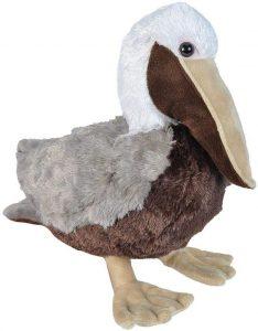 Peluche de pelicano de Wild Republic de 30 cm - Los mejores peluches de pelicanos - Peluches de animales