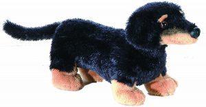 Peluche de perro salchicha de Aurora de 15 cm - Los mejores peluches de perros salchicha - Peluches de perros