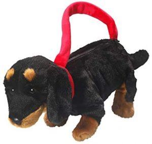 Peluche de perro salchicha de Carl Dick de 30 cm 4 - Los mejores peluches de perros salchicha - Peluches de perros