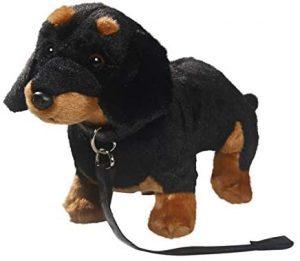 Peluche de perro salchicha de Carl Dick de 30 cm - Los mejores peluches de perros salchicha - Peluches de perros