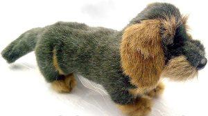 Peluche de perro salchicha de Farster Stofftiere de 15 cm - Los mejores peluches de perros salchicha - Peluches de perros