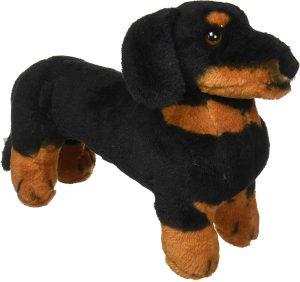 Peluche de perro salchicha de Melissa and Doug de 26 cm - Los mejores peluches de perros salchicha - Peluches de perros