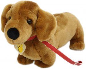 Peluche de perro salchicha de Plush and Company de 25 cm - Los mejores peluches de perros salchicha - Peluches de perros