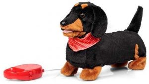 Peluche de perro salchicha de Tobar de 30 cm - Los mejores peluches de perros salchicha - Peluches de perros