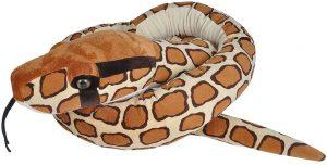 Peluche de pitón de la India de 280 cm de Wild Republic - Los mejores peluches de serpientes - Peluches de animales