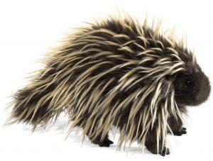 Peluche de puercoespín de Folkmanis de 33 cm - Los mejores peluches de puercoespines - Peluches de animales