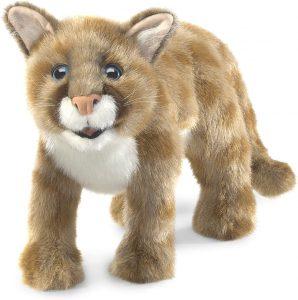 Peluche de puma de Folkmanis de 55 cm - Los mejores peluches de pumas - Peluches de animales