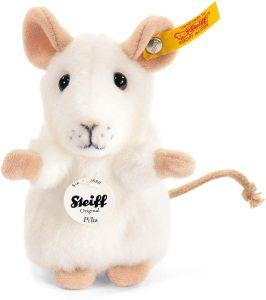 Peluche de ratón blanco de Steiff de 13 cm - Los mejores peluches de ratones - Peluches de animales