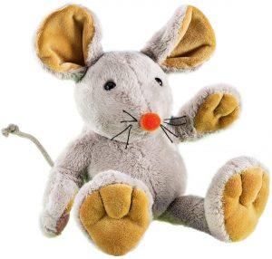 Peluche de ratón de Rudolph Schaffer de 22 cm - Los mejores peluches de ratones - Peluches de animales