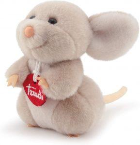 Peluche de ratón de Trudi de 13 cm - Los mejores peluches de ratones - Peluches de animales