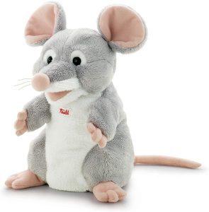 Peluche de ratón de Trudi de 26 cm - Los mejores peluches de ratones - Peluches de animales