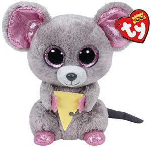Peluche de ratón de Ty de 15 cm - Los mejores peluches de ratones - Peluches de animales