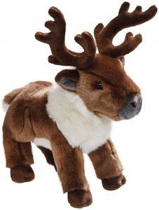 Peluche de reno de Carl Dick de 28 cm - Los mejores peluches de renos - Peluches de animales