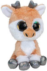 Peluche de reno de LUMO STARS de 15 cm - Los mejores peluches de renos - Peluches de animales