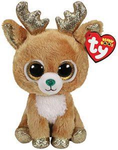 Peluche de reno de Ty de 15 cm - Los mejores peluches de renos - Peluches de animales
